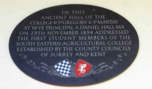 123 years ago today, in this ancient hall...at Wye
