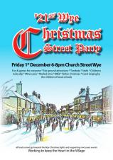 21 Today! Wye Christmas Street Party