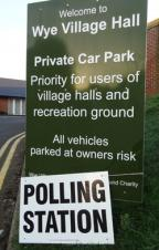 Polling Day - Ashford Borough Council Elections