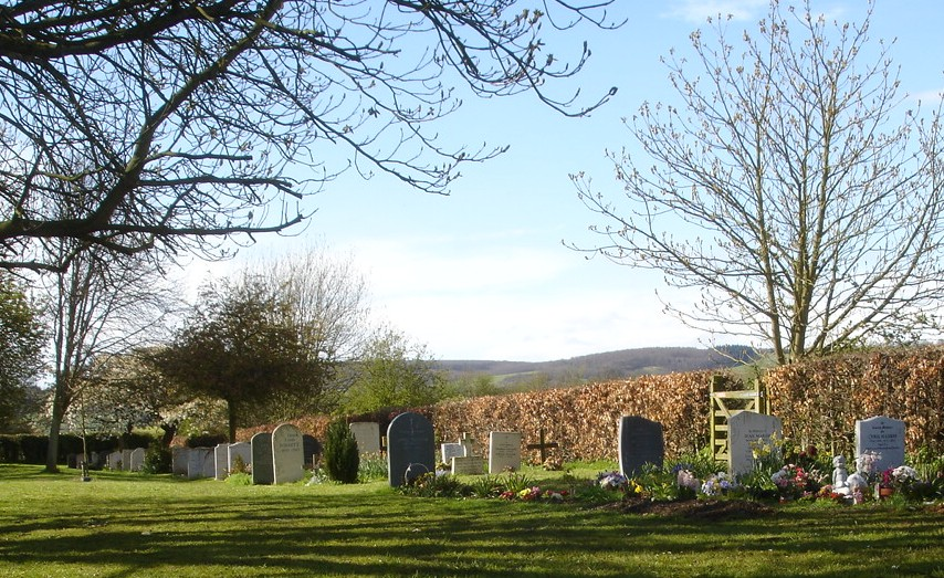 The new burial ground, adjacent to Wye churchyard