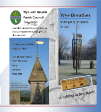 Wye Breathes: front cover of the project flyer available to download below