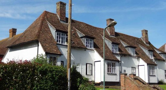 Wye Almshouses, a charity established by Sir Thomas Kempe in 1562 - and still going strong!